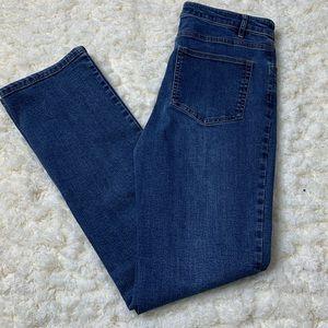 J Jill Smooth Fit Straight Leg Jeans
